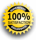 100 percent satisfaction guaranteed