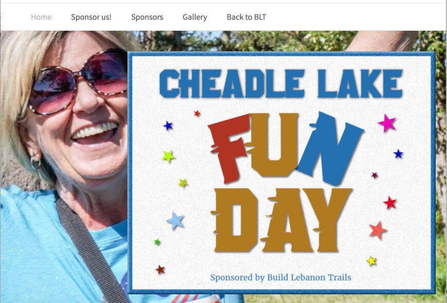 Cheadle Lake Run screenshot