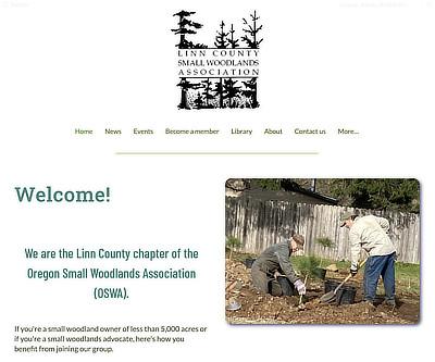 Linn County Small Woodlands Association website